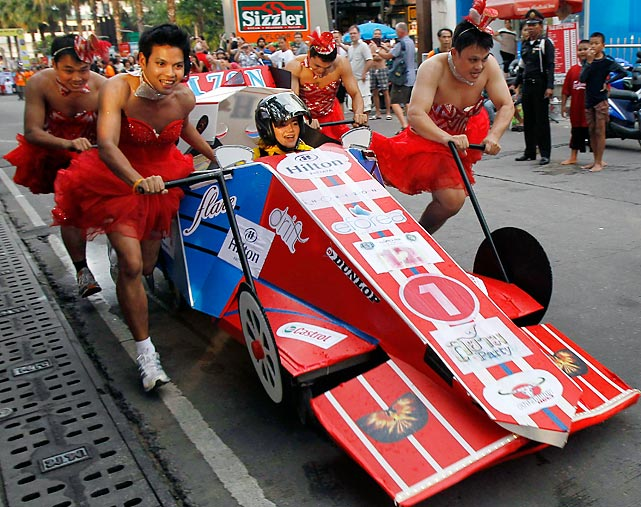 15 Charity Bed Race