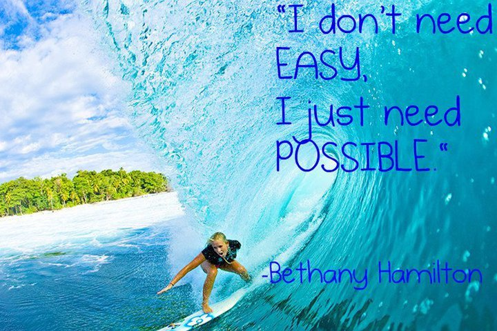 2013-0805 Nothing can stop North Shores Bethany Hamilton