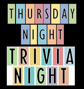 Thursday Night Trivia Night